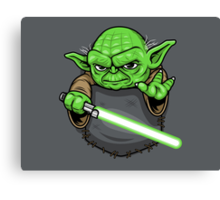 Pocket Jedi Canvas Print