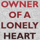 Owner Of A Lonely Heart by RobC13