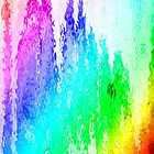 assorted dripped rainbow of colors by kaye terrelonge