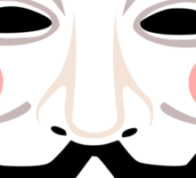 Anonymous Guy Faulkes Sticker