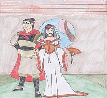 Disney Weddings - Mulan by LaSerenity