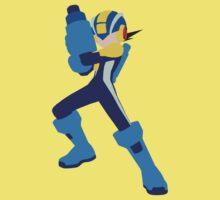 Megaman.exe Minimalism by ParadoxZeroe