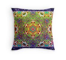 Cymatichron Throw Pillow
