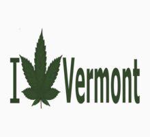 0243 I Love Vermont by Ganjastan