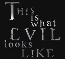 EVIL LOOKS LIKE... (metal) by 01Graphics