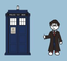 Dr Who (10) car sticker family (also shirts) Kids Clothes