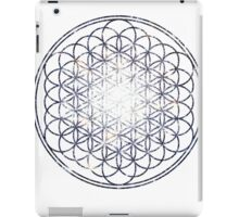 Flower Of Life - Sacred Geometry Star Cluster iPad Case/Skin