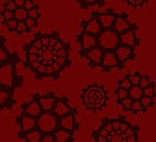 Steampunk Gears by alexisalion