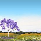 Jacaranda At the Gate by CreativeImage
