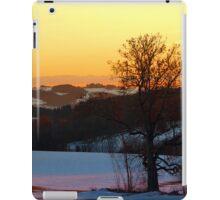 Colorful winter wonderland sundown V | landscape photography iPad Case/Skin