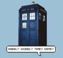 Wibbly Wobbly Timey Wimey Tardis Kids Clothes