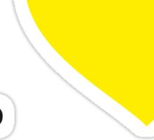 I ♥ HAUTACAM Sticker