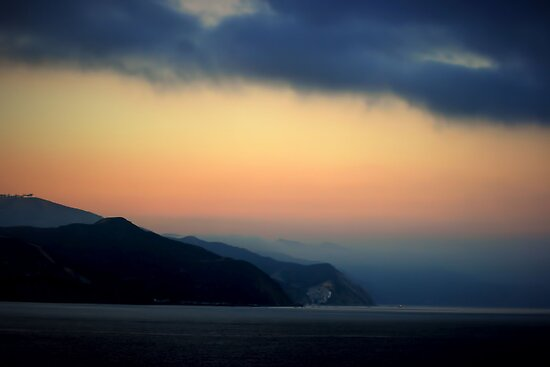 Mystical Sunrise at Catalina Island by Polly Peacock
