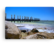 Greenhead Boat Ramp Canvas Print