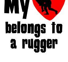My Heart Belongs To A Rugger by kwg2200