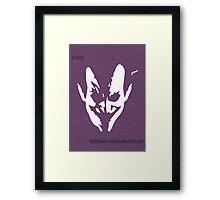 Joker Face Framed Print