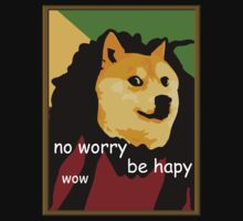 Bob Marley Doge (Framed) by LIKE