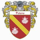 Peters Coat of Arms / Peters Family Crest by William Martin