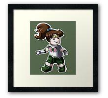 Legolized Sailor Jupiter Framed Print