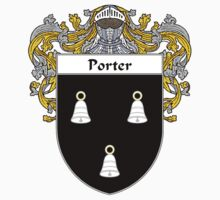Porter Coat of Arms / Porter Family Crest by William Martin