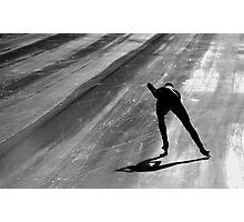 Speed Skating Photographic Print