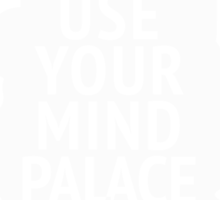 Use Your Mind Palace Sticker