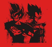 Tag Team Saiyans by Timmyb0y