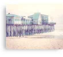 Old Orchard Beach Pier, Maine Canvas Print