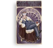 Villain Nouveau- Jim Moriarty Canvas Print