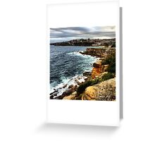 Sunrise Over Coogee 08.01.14 Greeting Card