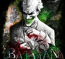 Batman Arkham City Joker by sazzed