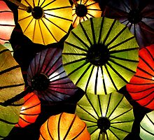 Oriental lanterns by Paige