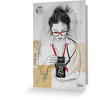 have camera will travel Greeting Card