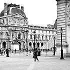 The Louvre, Paris by David Perrin