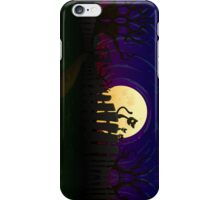 Halloween Fence iPhone Case/Skin