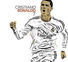 Cristiano Ronaldo by NickB17