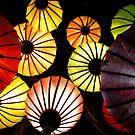 Oriental lanterns III by Paige