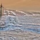 Porthleven Storm 6.1.14 - a slightly different take..... by Mike Honour