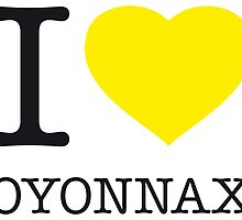 I ♥ OYONNAX by eyesblau