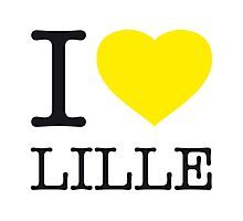 I ♥ LILLE Photographic Print