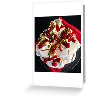 Passion for Pavlova Greeting Card