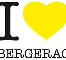 I ♥ BERGERAC by eyesblau
