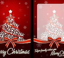 Weihnachtskarten für Firmen by kimbrabasden