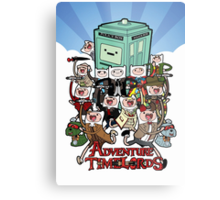 Adventure Time-Lords Metal Print