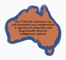 Pre 1788 the continent we call Australia by wolfcat