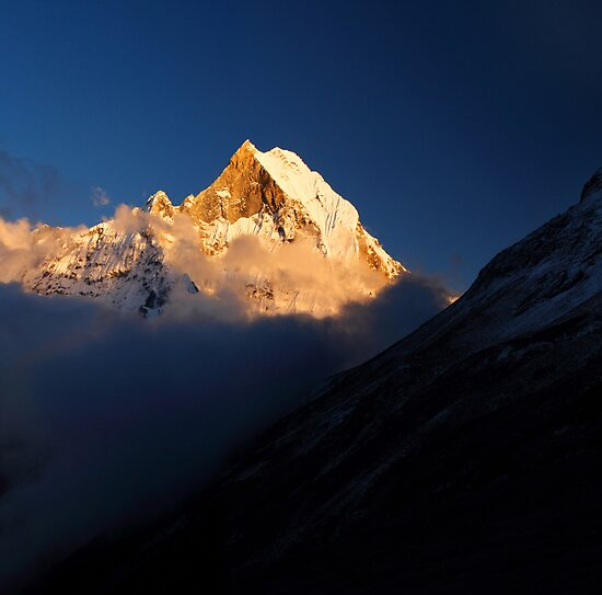 Machhupuchhare, Annapurna Conservation Area, Nepal. by Andy Newman