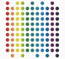Spectral Matrix of Colours in spots by dotgumbi