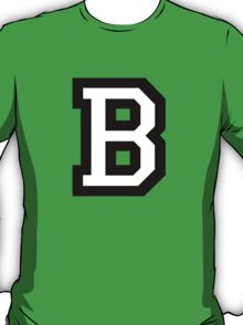 Letter B two-color T-Shirt