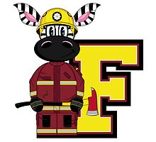 F is for Fireman by MurphyCreative