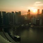 Sunset in Asia by jswolfphoto